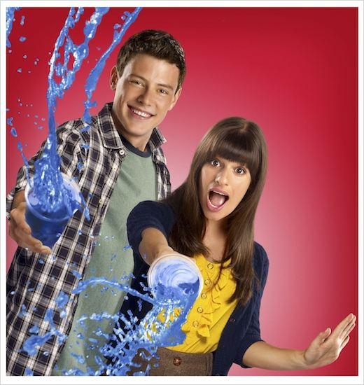 Glee : Photo Cory Monteith, Lea Michele
