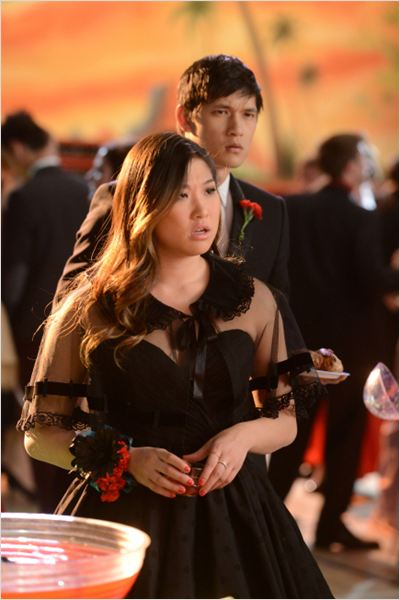 Photo Harry Shum Jr., Jenna Ushkowitz