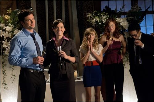 Smallville : Photo Britt Irvin, Cassidy Freeman, Erica Durance, Tom Welling