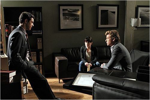 Photo Michael Rady, Robin Tunney, Simon Baker