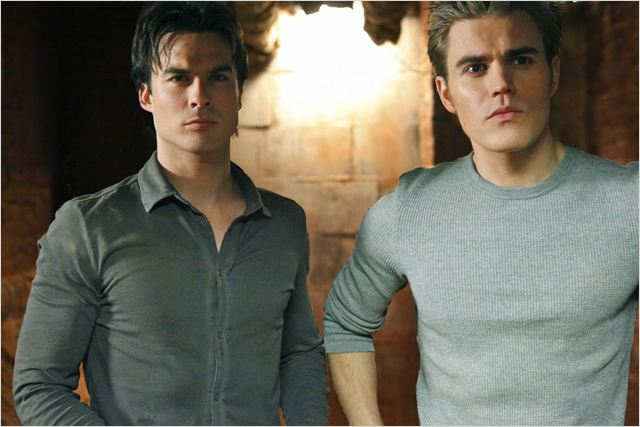 Vampire Diaries : Photo Ian Somerhalder, Paul Wesley