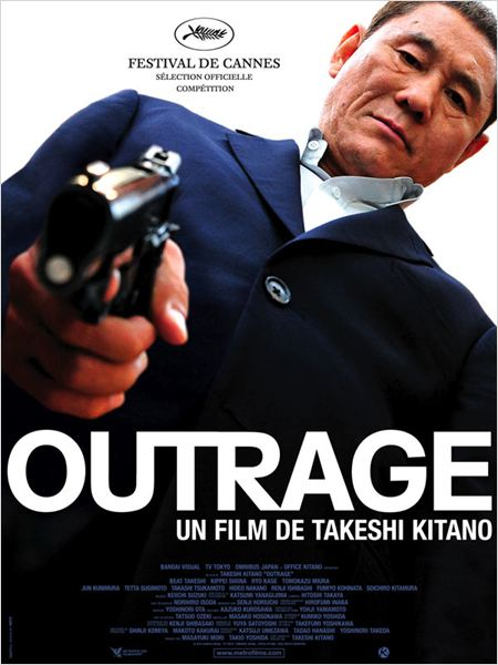 Outrage : affiche Takeshi Kitano