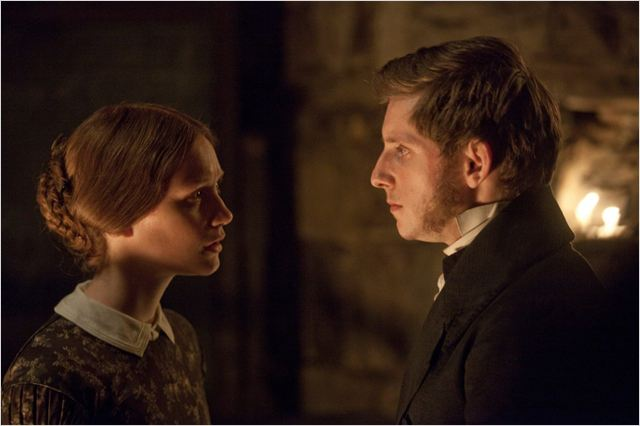 Jane Eyre : photo Jamie Bell, Mia Wasikowska