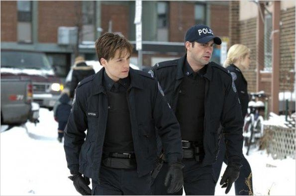 Rookie Blue : photo Charlotte Sullivan, Gregory Smith, Travis Milne