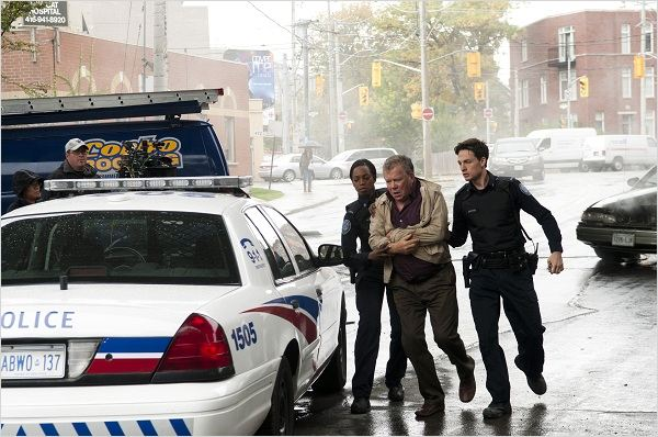 Rookie Blue : photo Enuka Okuma, Gregory Smith, William Shatner