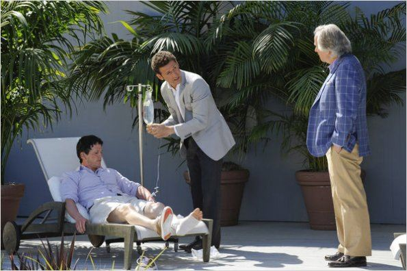 Royal Pains : photo Henry Winkler, Mark Feuerstein