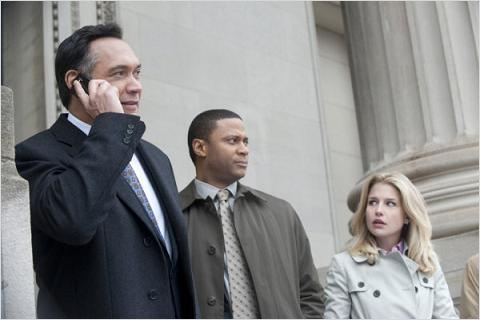 Outlaw : photo David Ramsey, Ellen Woglom, Jimmy Smits