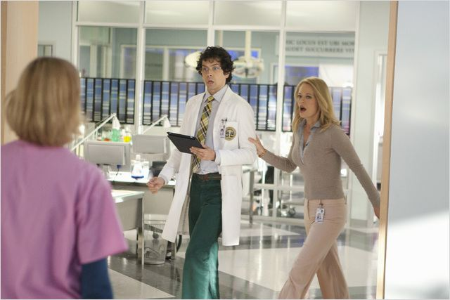 Body Of Proof : photo Geoffrey Arend, Jeri Ryan