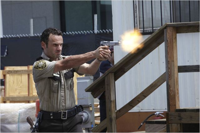 The Walking Dead : Photo Andrew Lincoln