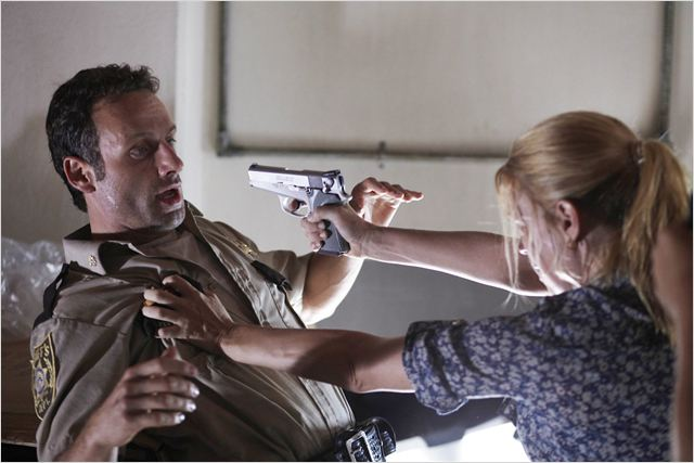 The Walking Dead : Photo Andrew Lincoln, Laurie Holden