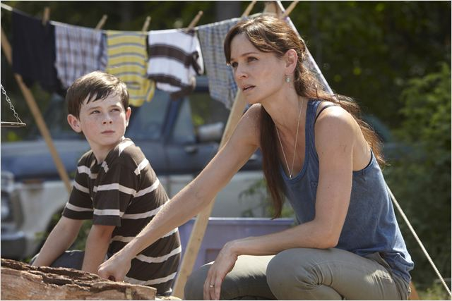 The Walking Dead : photo Chandler Riggs, Sarah Wayne Callies