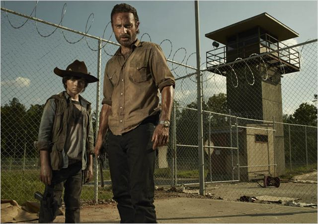 Photo Andrew Lincoln, Chandler Riggs