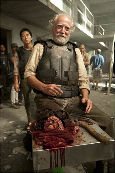 The Walking Dead : photo Scott Wilson (II), Steven Yeun