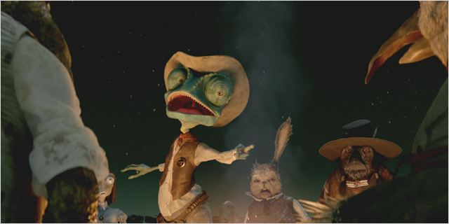 Rango : photo Gore Verbinski
