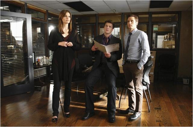Castle : photo Nathan Fillion, Seamus Dever, Stana Katic