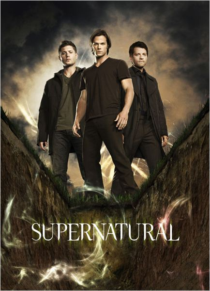 Supernatural : Photo Jared Padalecki, Jensen Ackles, Misha Collins