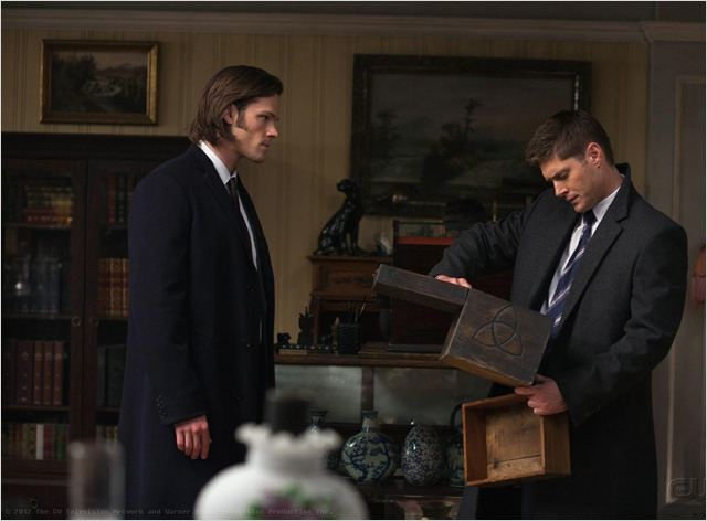 Supernatural photo de jared padalecki et jensen ackles 908 sur 1 315 allocine - Jensen ackles taille ...