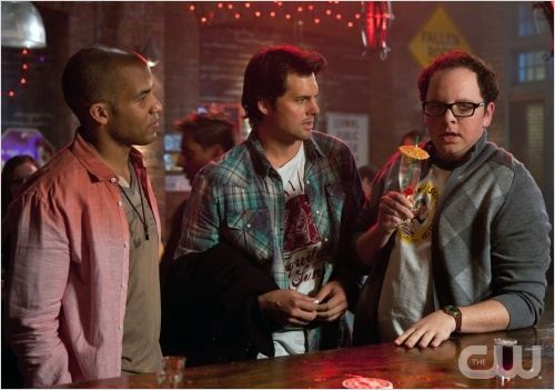 Life Unexpected : Photo Austin Basis, Kristoffer Polaha, Reggie Austin