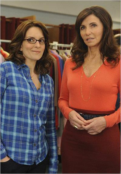 30 Rock : photo Mary Steenburgen, Tina Fey
