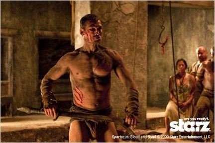 Spartacus : Le sang des gladiateurs : photo Andy Whitfield