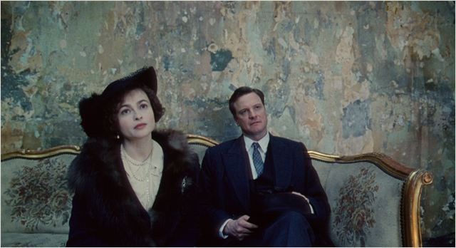 Le Discours d'un roi : photo Colin Firth, Helena Bonham Carter, Tom Hooper