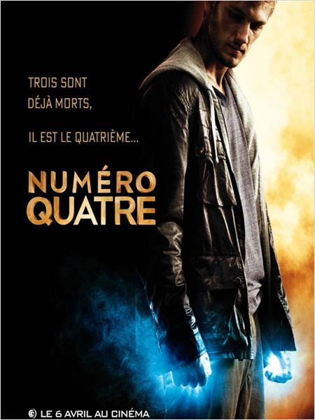 Num&#233;ro quatre : affiche