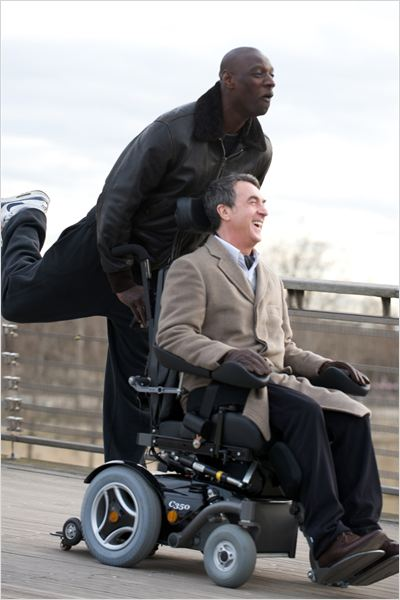 Intouchables : Photo Eric Toledano, Fran&#231;ois Cluzet, Olivier Nakache, Omar Sy