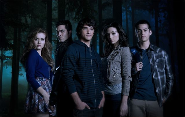 Teen Wolf : Photo Crystal Reed, Dylan O'Brien, Holland Roden, Tyler Hoechlin, Tyler Posey