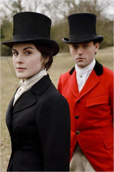 Downton Abbey : photo Brendan Patricks, Michelle Dockery