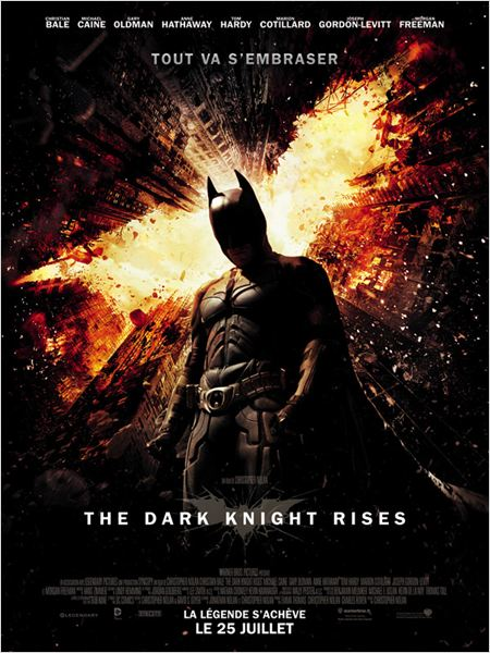The Dark Knight Rises : Affiche