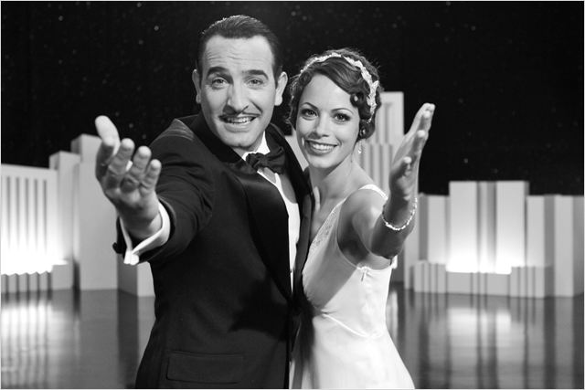 The Artist : photo Bérénice Bejo, Jean Dujardin, Michel Hazanavicius
