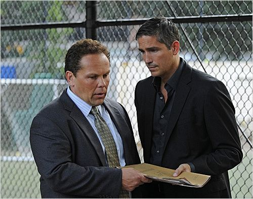 Person of Interest : photo Jim Caviezel, Kevin Chapman