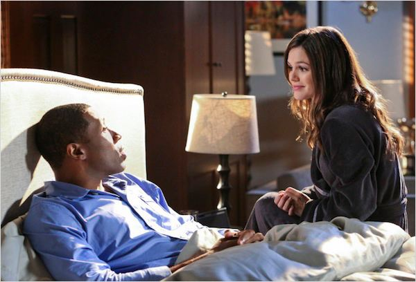 Photo Cress Williams, Rachel Bilson