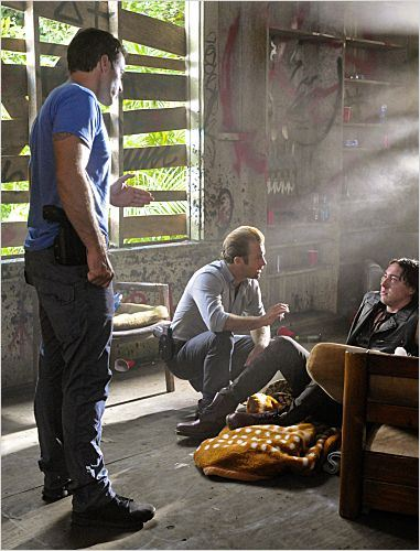 Photo Alex O'Loughlin, Chris Coy, Scott Caan
