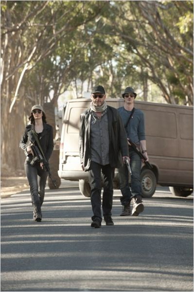 Strike Back : photo Brian Milligan, Liam Cunningham, Orla O'Rourke