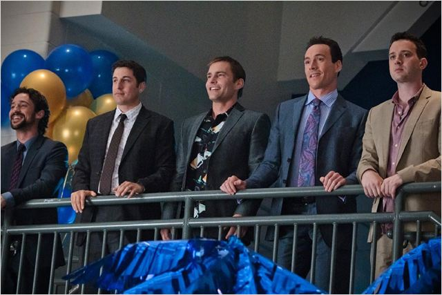 American Pie 4 : photo Chris Klein, Eddie Kaye Thomas, Jason Biggs, Seann William Scott, Thomas Ian Nicholas