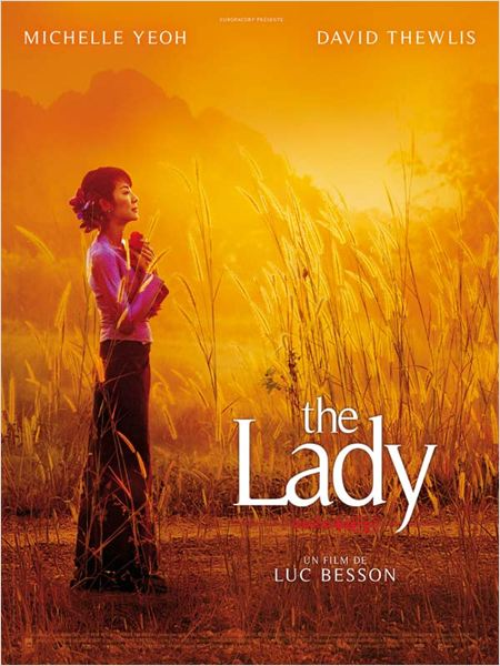 The Lady : affiche Luc Besson