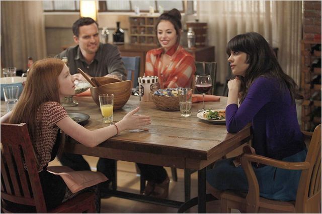New Girl : photo Annalise Basso, Jake M. Johnson, Zooey Deschanel