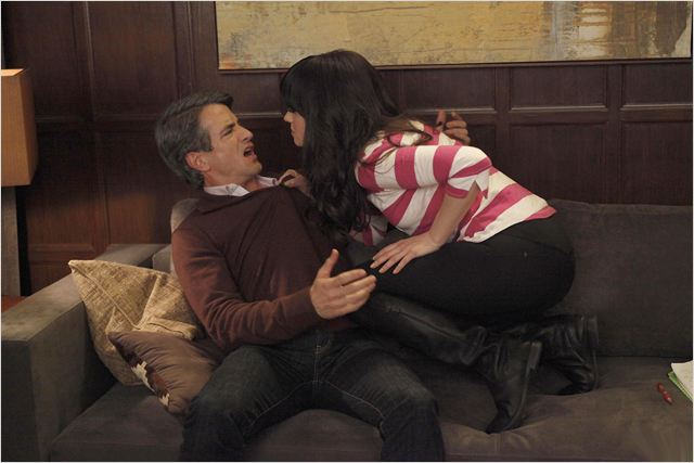 New Girl : photo Dermot Mulroney, Zooey Deschanel