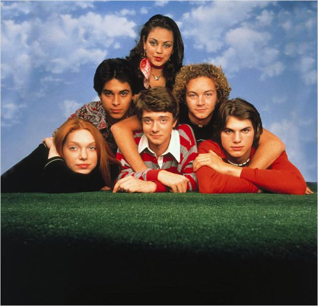 That &#39;70s Show : photo Ashton Kutcher, Danny Masterson, Laura Prepon, Mila Kunis, Topher Grace