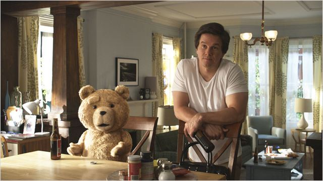 Ted : Photo Mark Wahlberg, Seth MacFarlane