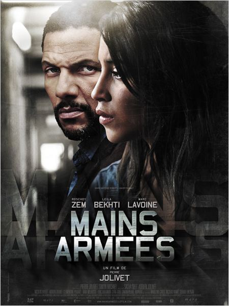 Mains arm&#233;es : affiche