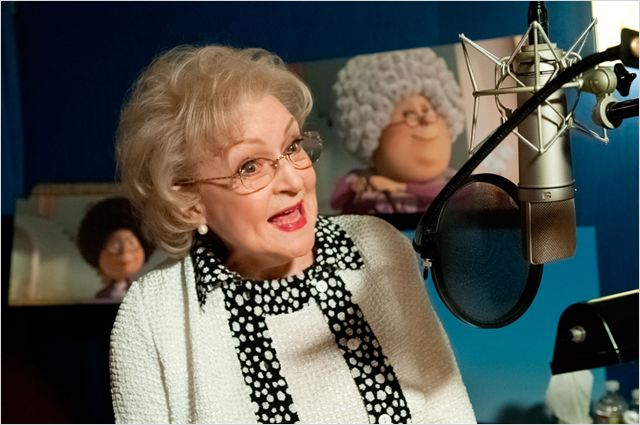 Le Lorax : photo Betty White