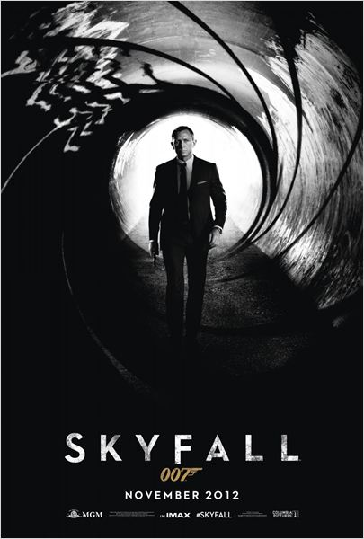 Skyfall : affiche Daniel Craig