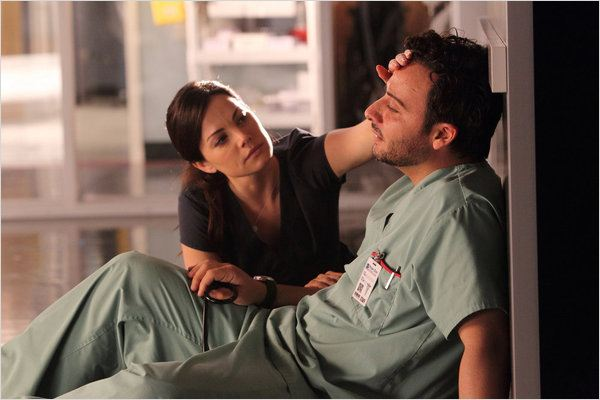 Saving Hope : photo Erica Durance, Salvatore Antonio