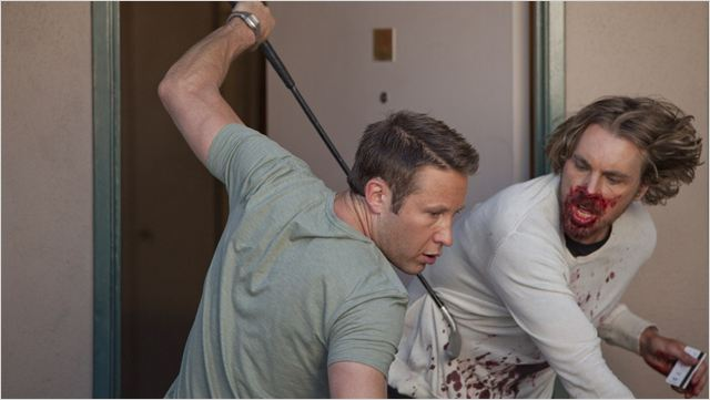 Hit and run : Photo Dax Shepard, Michael Rosenbaum