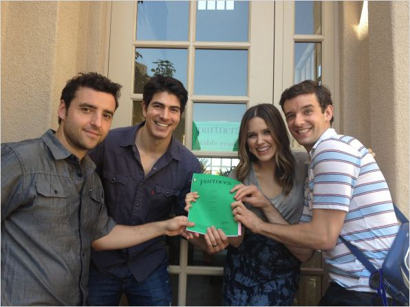 Partners (2012) : photo Brandon Routh, David Krumholtz, Michael Urie, Sophia Bush