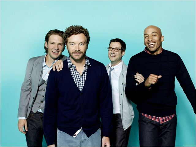 Men At Work : photo Adam Busch, Danny Masterson, James Lesure, Michael Cassidy