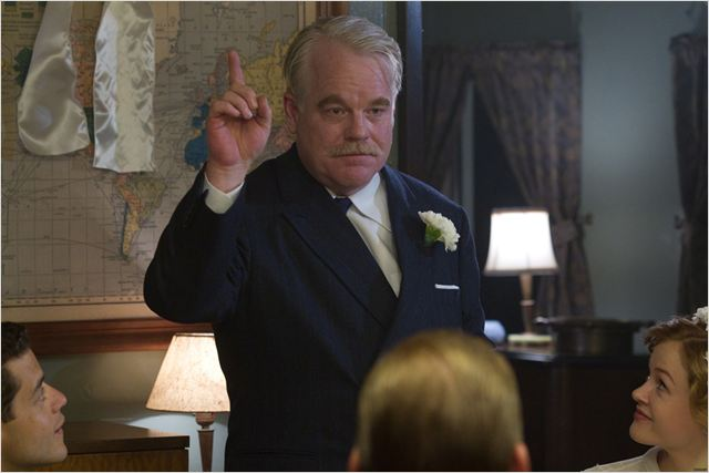 The Master : photo Philip Seymour Hoffman