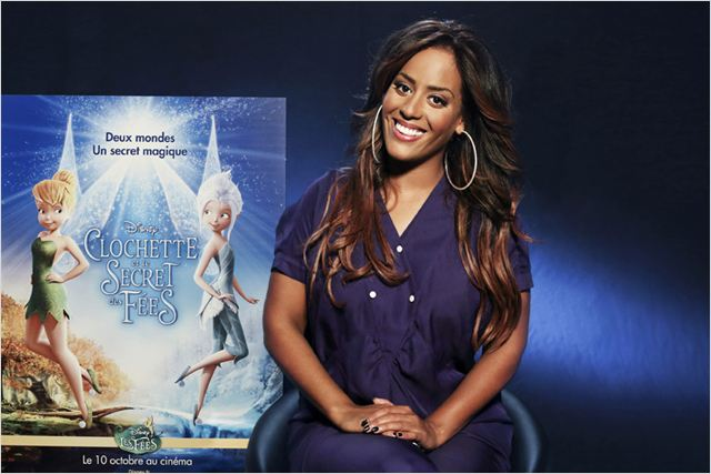 Clochette et le secret des fées : photo Amel Bent